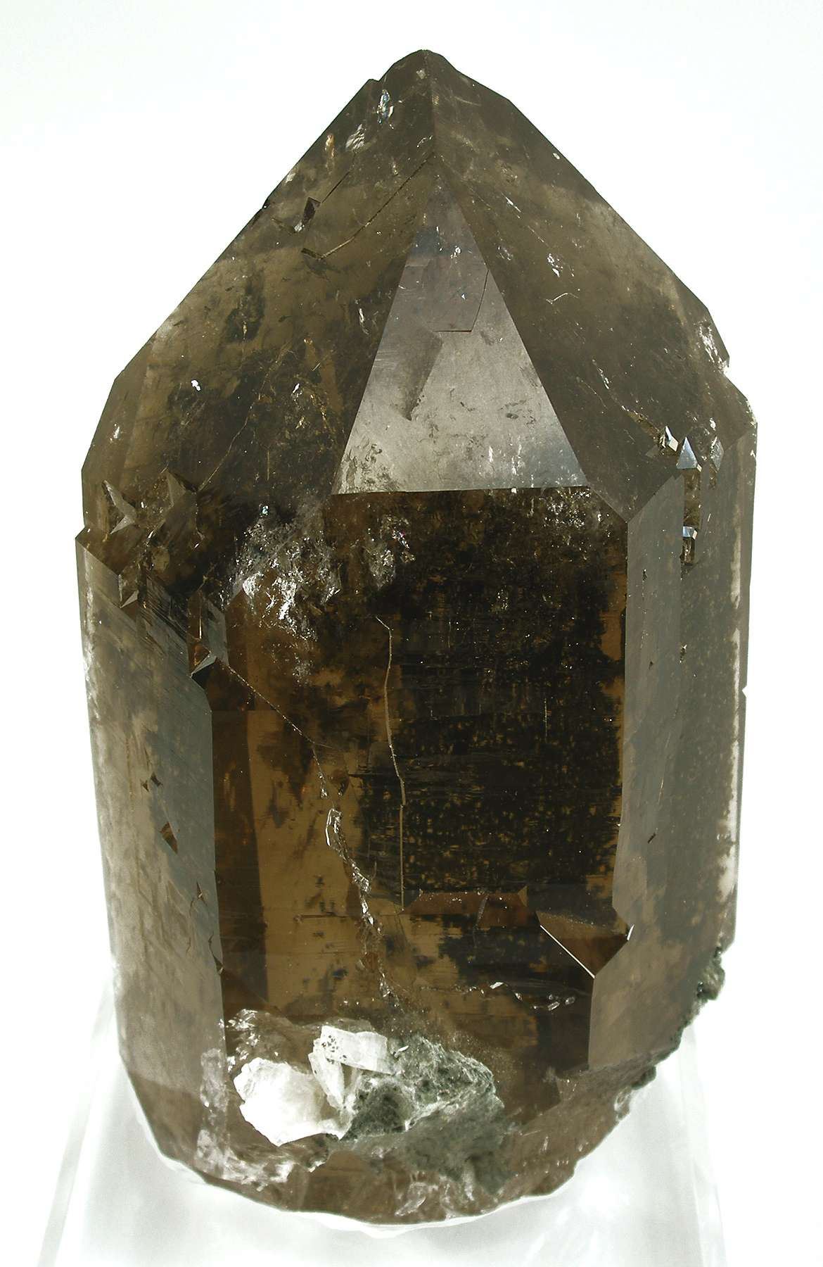 Probably dating 1980s heyday 2 kilo GEM crystal alpine smoky quartz