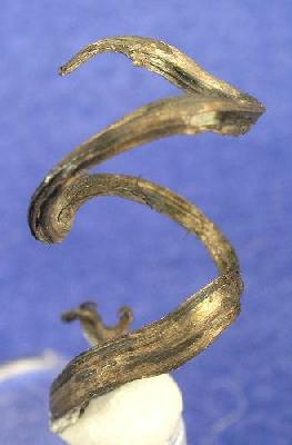 Attractive spiral wire Silver Keeley Frontier Mine Ontario Not wire