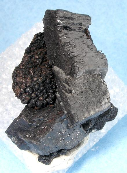 A MAJOR locality Manganite unusually blocky crystals locale 1 7 cm