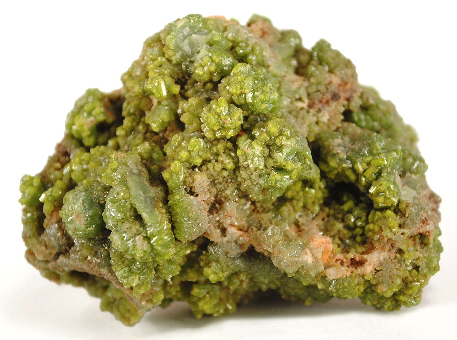 A large rich specimen rare pyromorphite locality intermittently