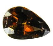 Axinite typically considered collector s stone rarely gems size This