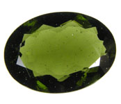 Moldavite referred gem fell earth This material believed formed shower