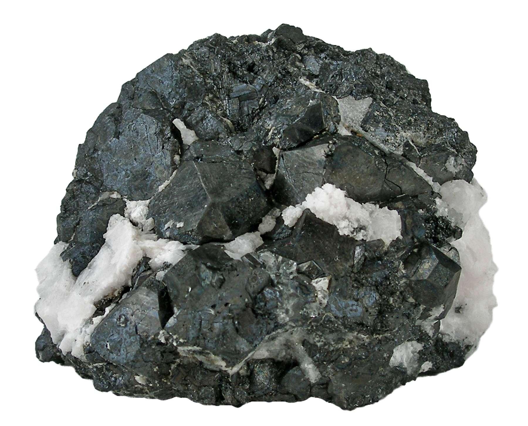 Sharp crystals including major sharp 1 6 cm crystal embedded matrix