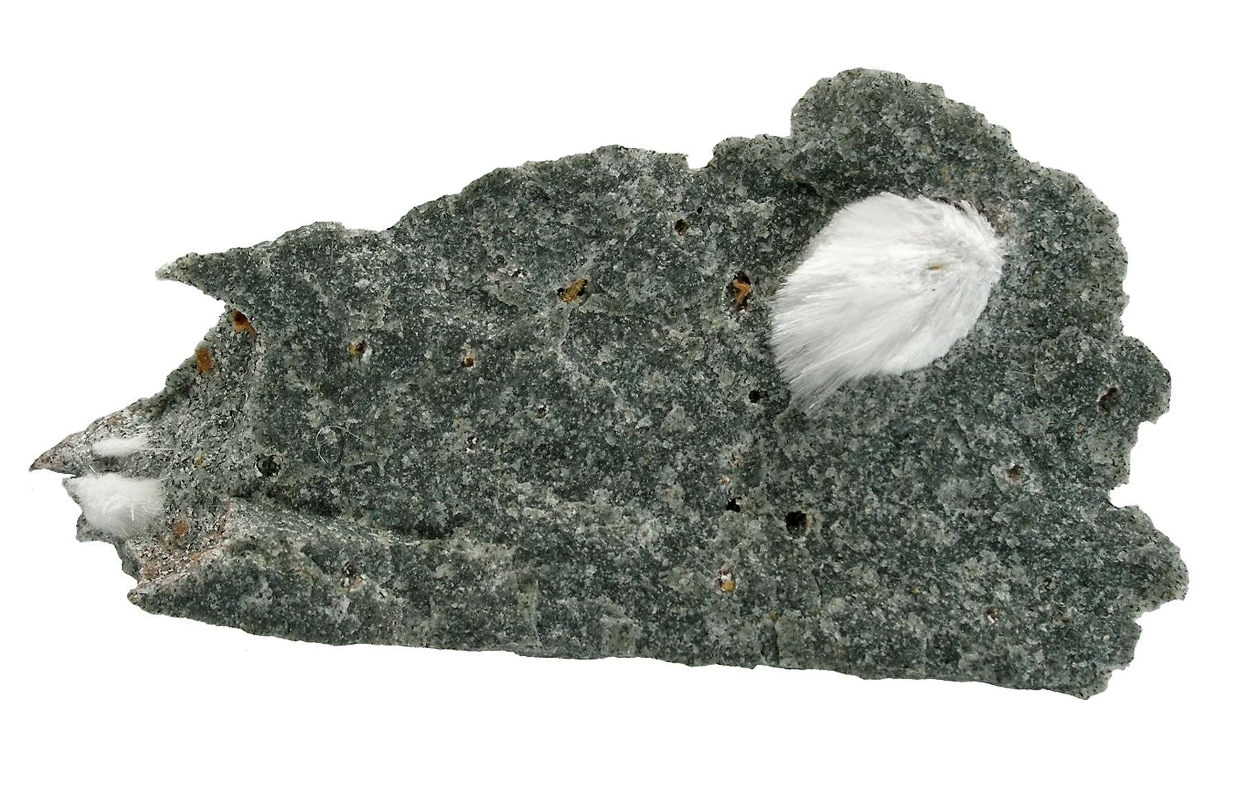 A fine 1 6 cm spray acicular crystals rare species Makatite finds