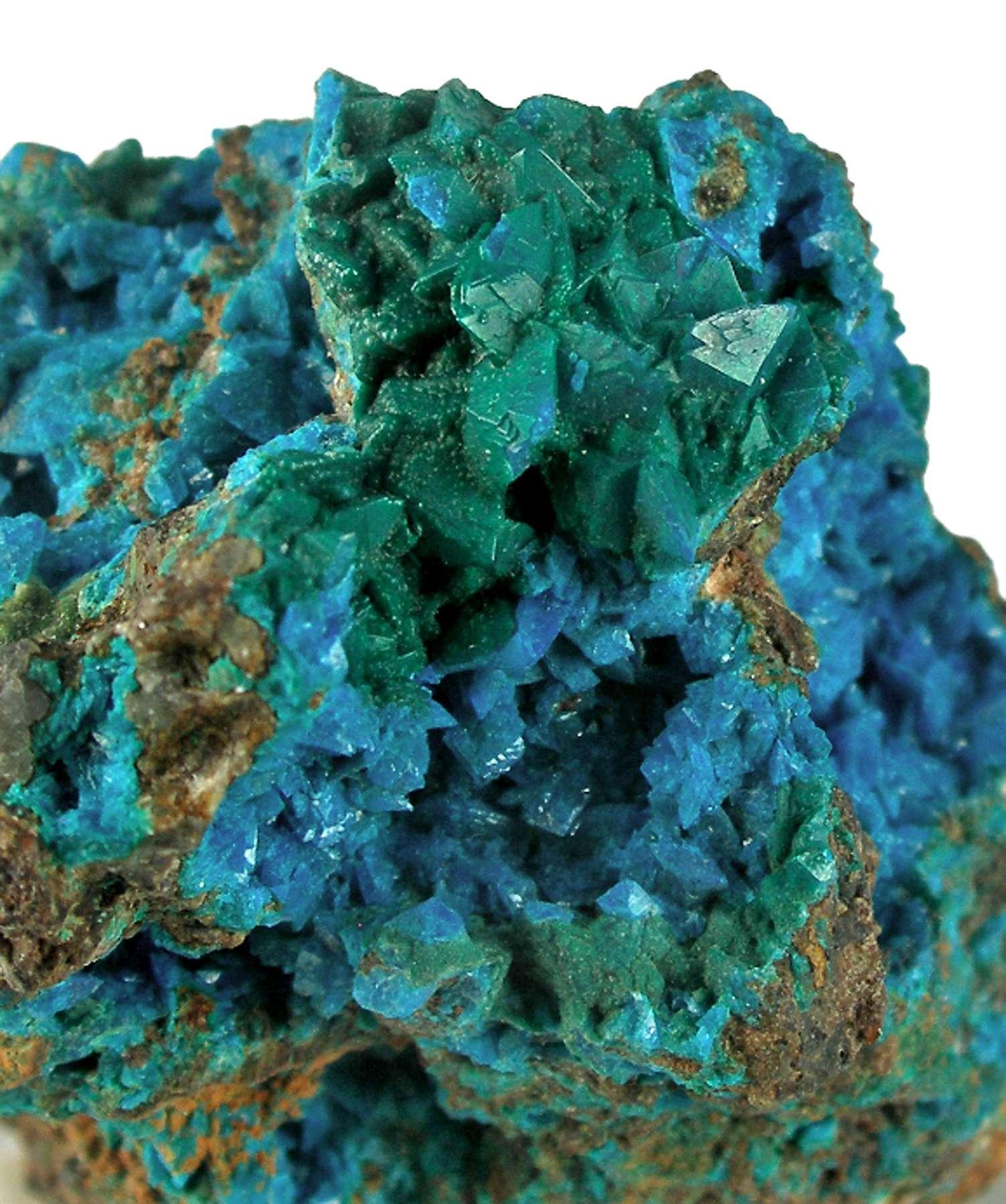 Liroconite rare copper species upper oxidized zones just deposits