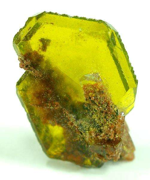A remarkable flattened crystal showing pseudo hexagonal form exquisite