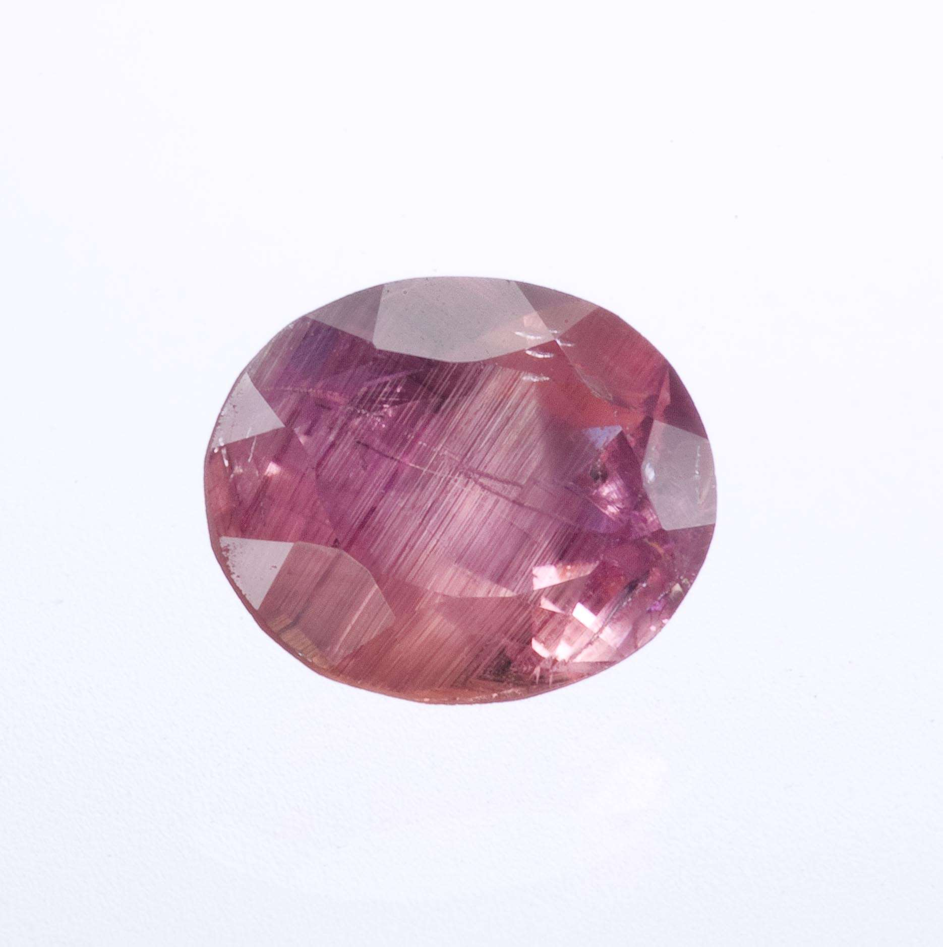 This larger gem somewhat rounded rectangle cut The stone reasonably