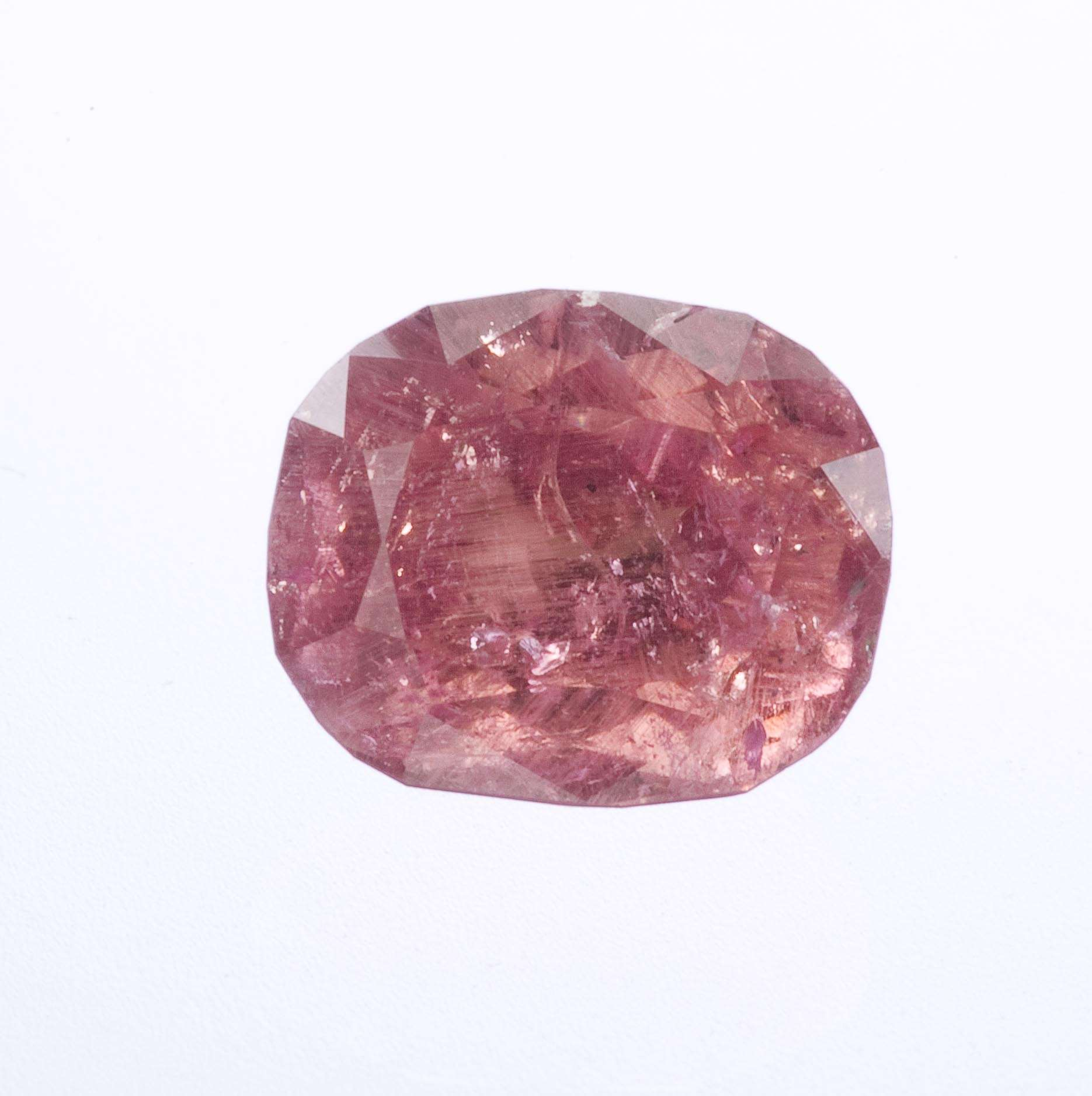 This new species gem red beryl 2002 brought market limited quantity No