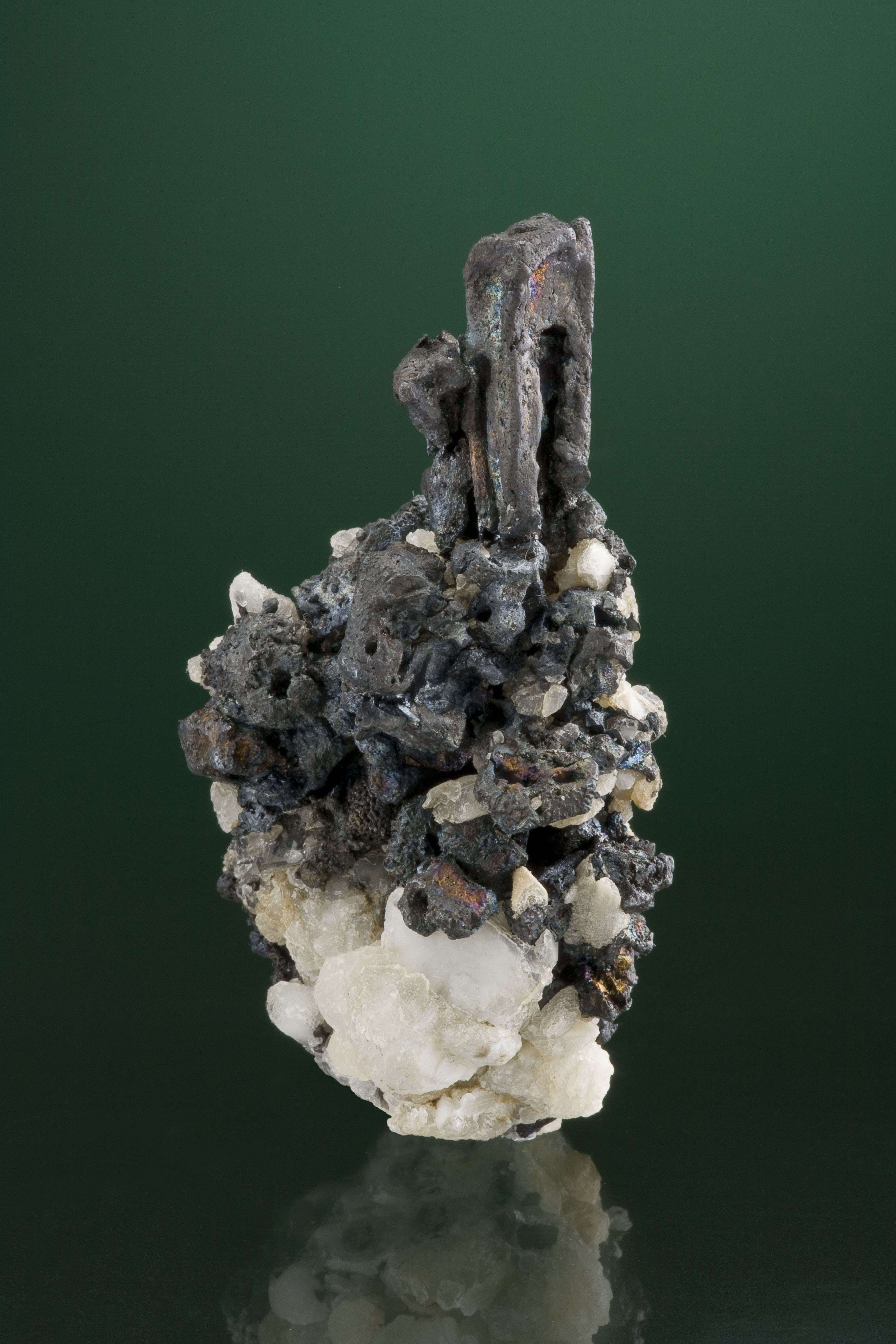 Acanthite Mexican locales seldom occurs large crystals matrix Here