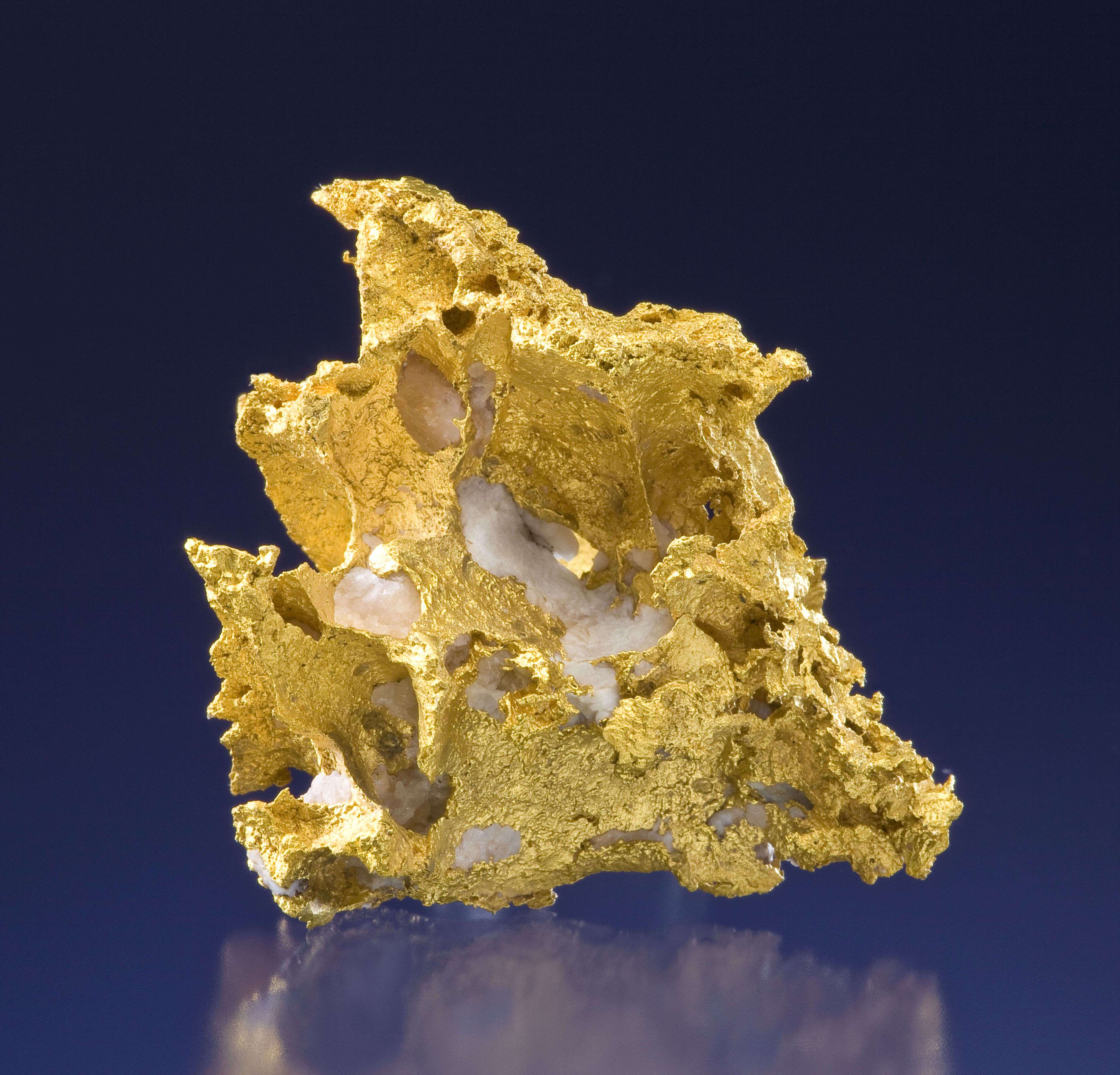 Quartz With Gold Inclusions : Gold tuc victoria goldfields australia