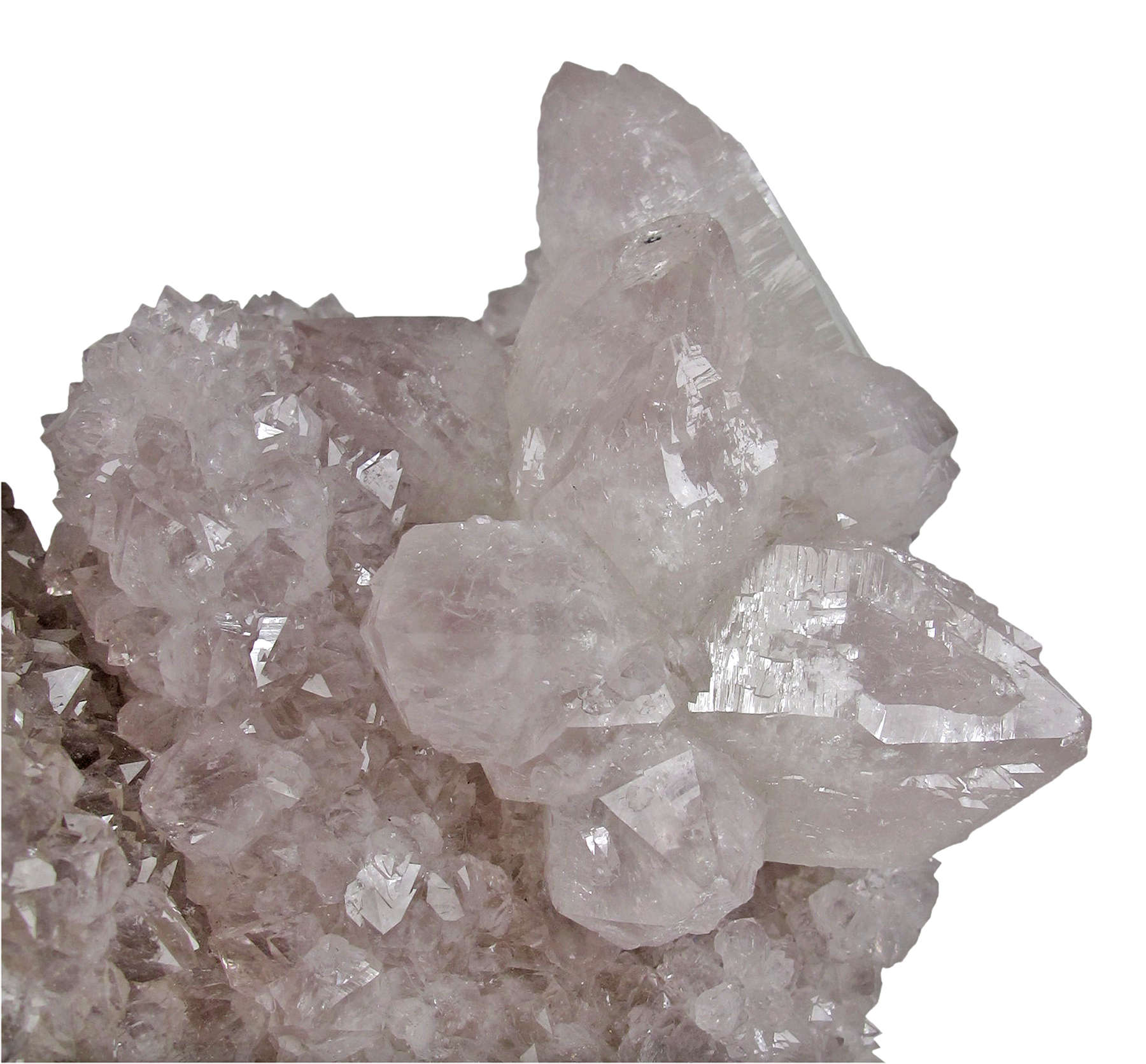 A dramatic large specimen huge fat danburite crystal partially