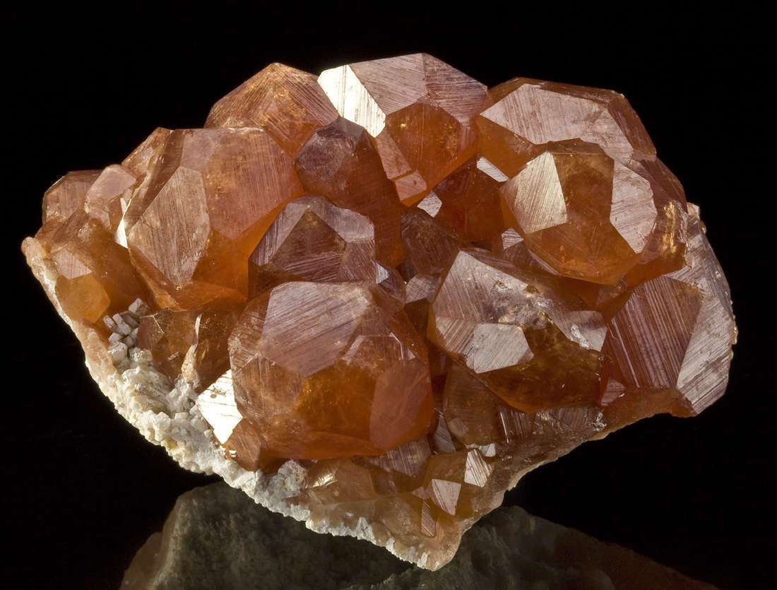 Hessonite Garnet - DEN11-388 - Mana Mine - Pakistan ...