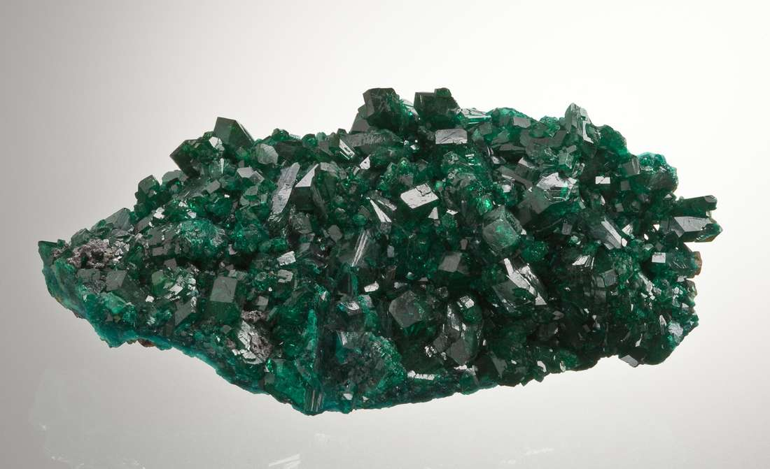 At glance vivid color size piece people think Tsumeb Mine dioptase And