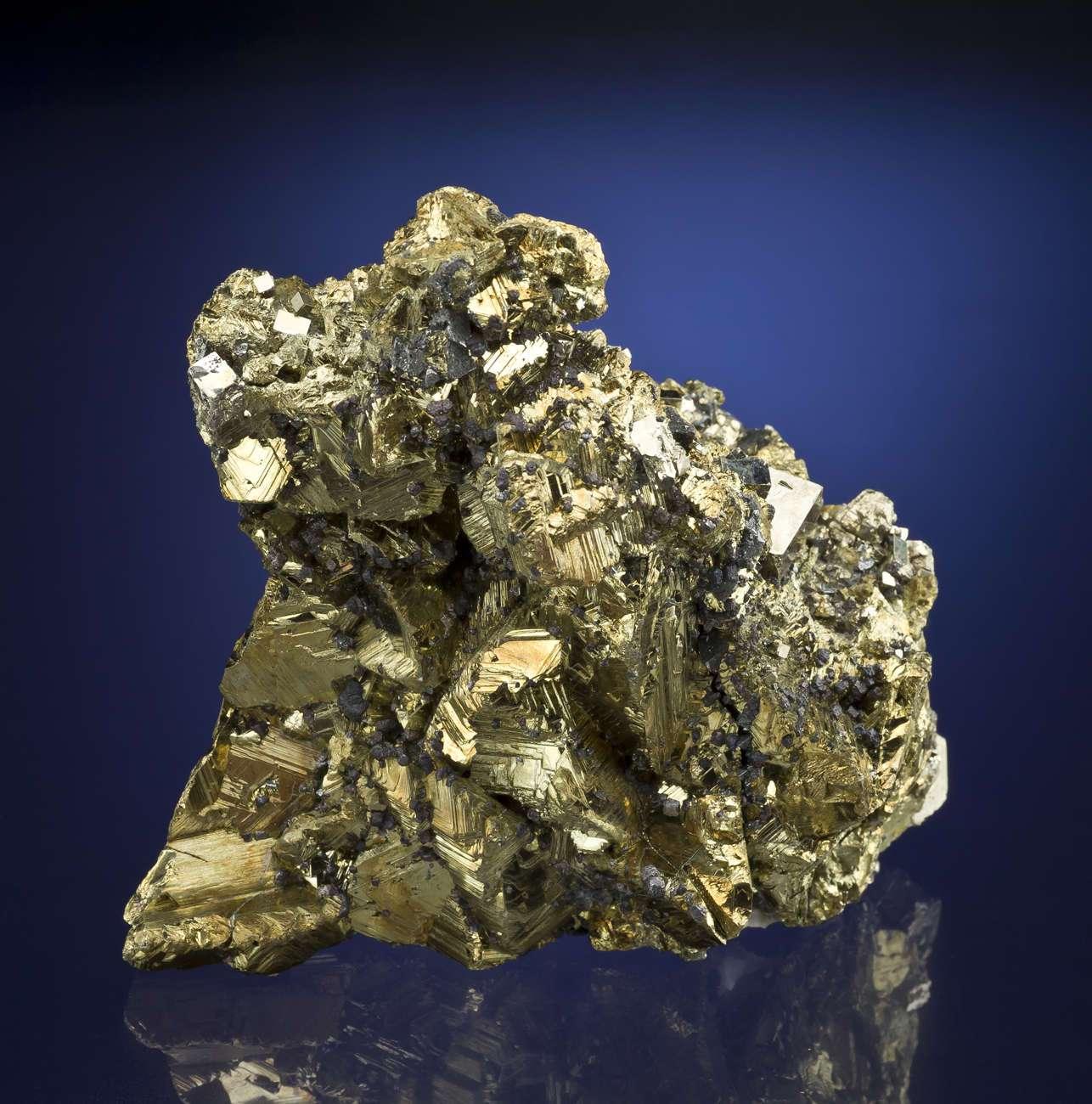 Bright Chalcopyrite, Pyrite & Tetrahedrite | iRocks Fine ...