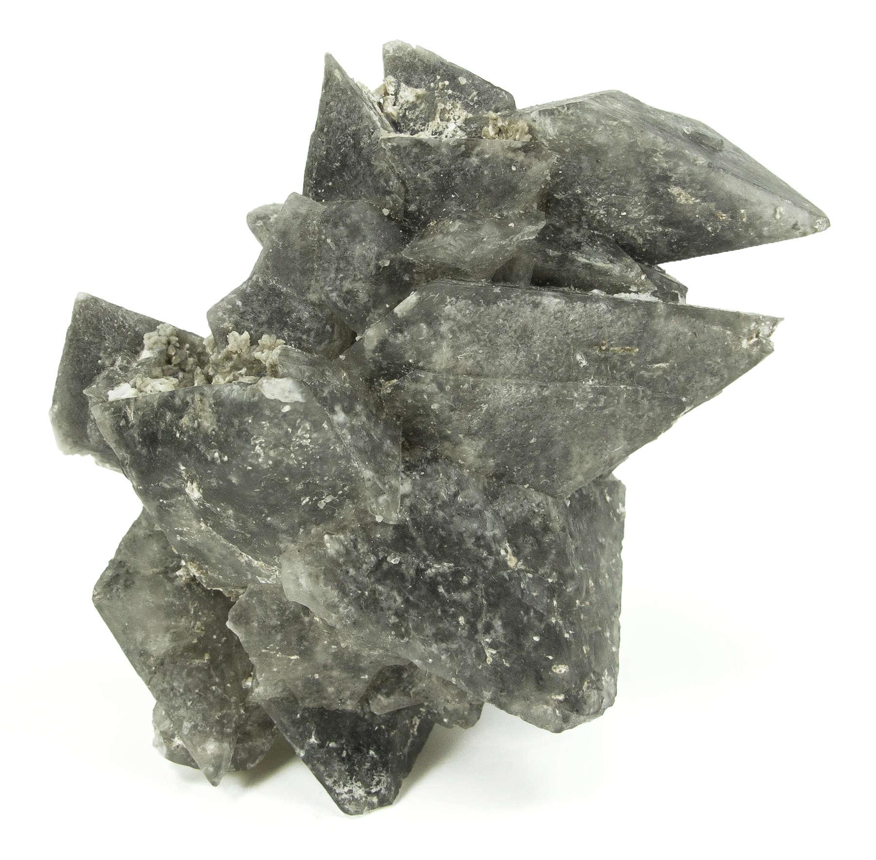 A aesthetic sharp cluster bipyramidal crystals thenardite rare sodium