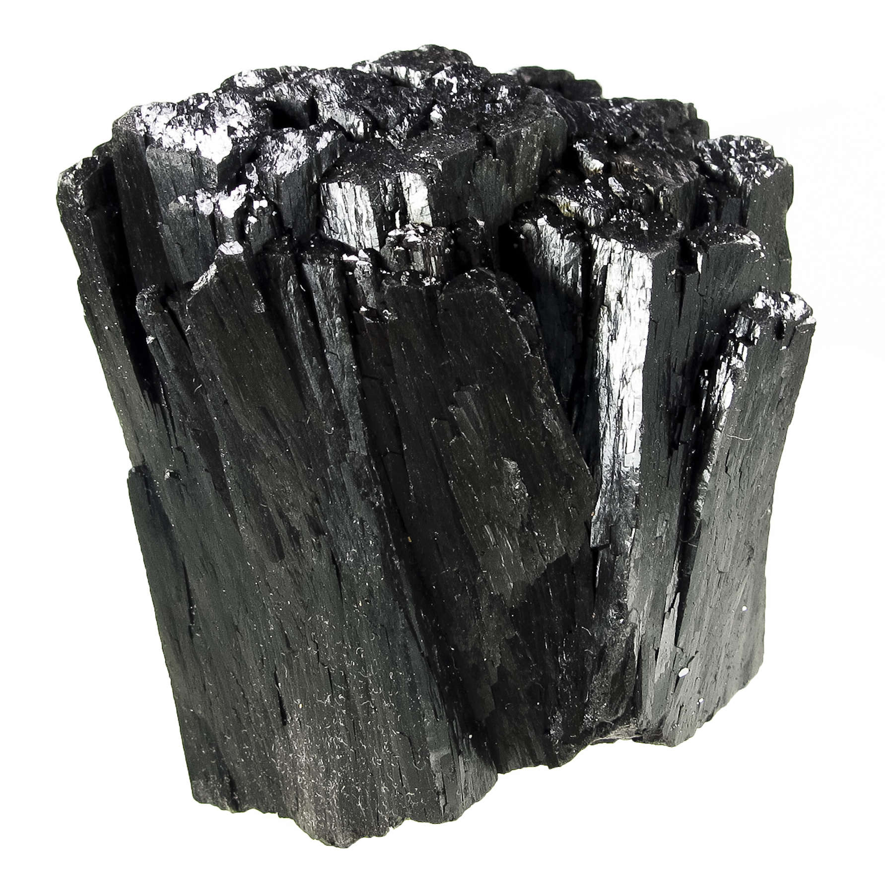 These robust large ilvaite crystals seen piece fatter thicker ilvaite