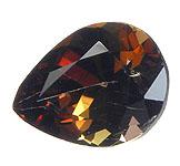 This superb collector s stone This fantastic deep cognac color gem