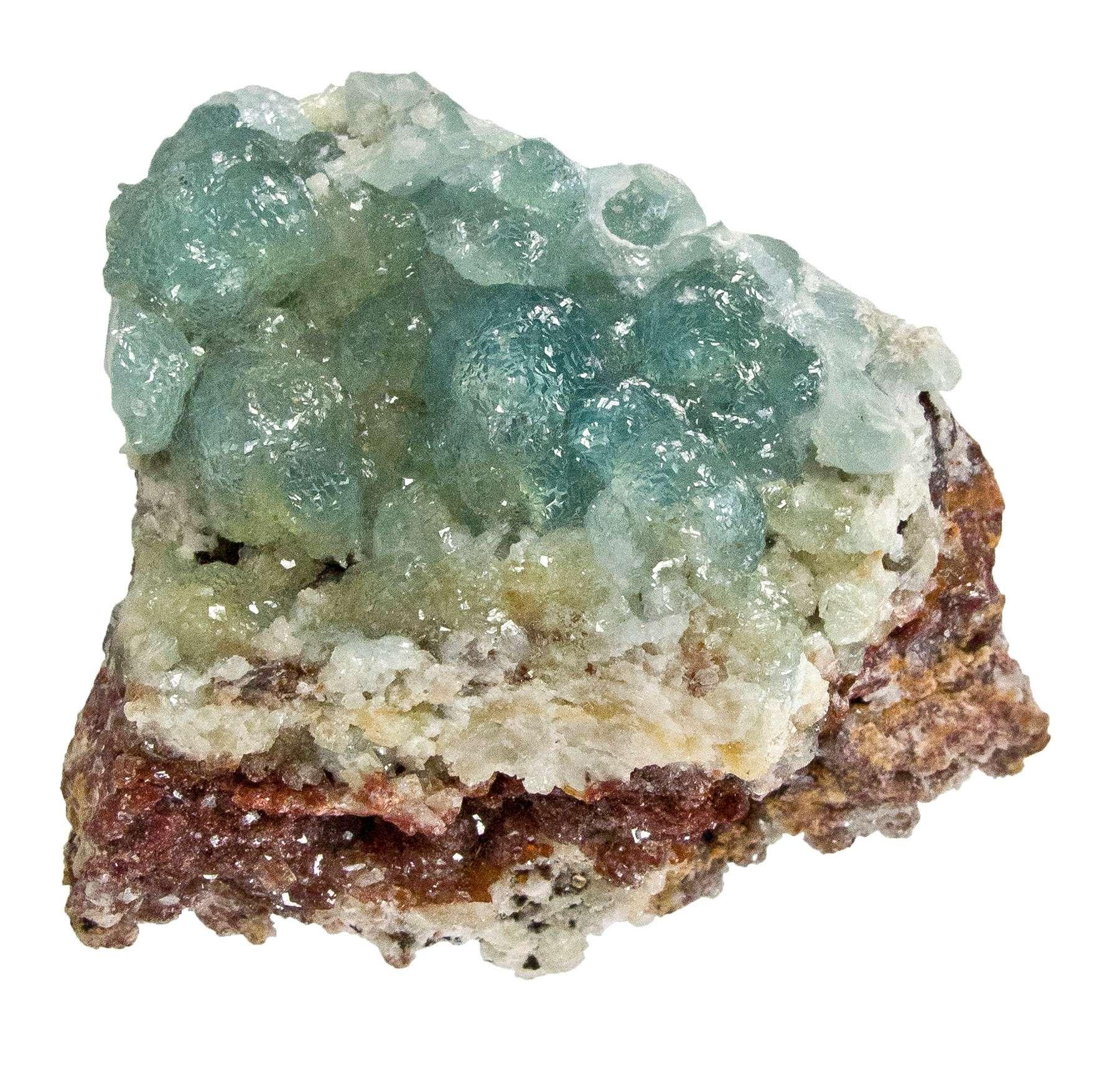 This specimen features rare gem clusters 8 mm glassy gemmy aquamarine
