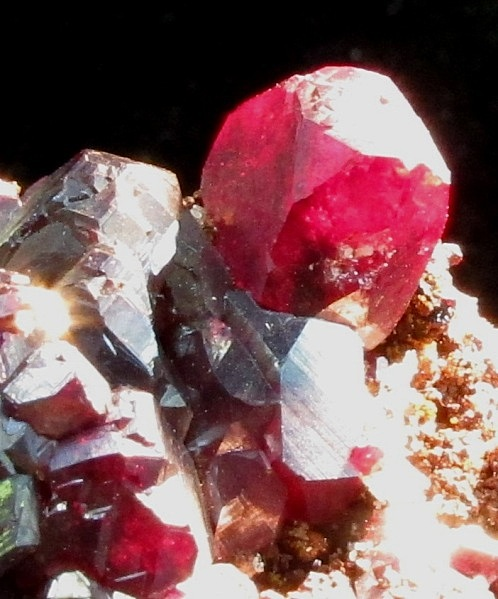 Rich complex cluster heavily modified cubic Cuprite crystals The