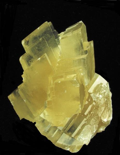 A classic fine Calcite specimen Tsumeb Mine This striking trifurcated