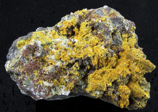 Tsumcorite lead zinc iron arsenate named Tsumeb Tsum Corporation Cor