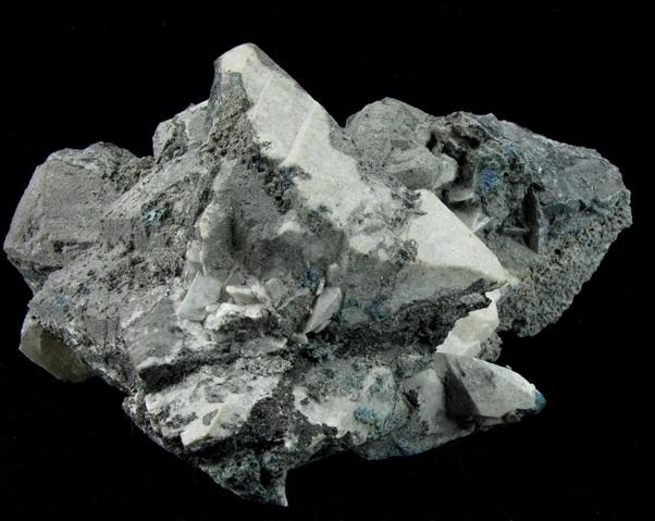 Large impressive pseudomorph significant 4 7 cm Tennantite replaced