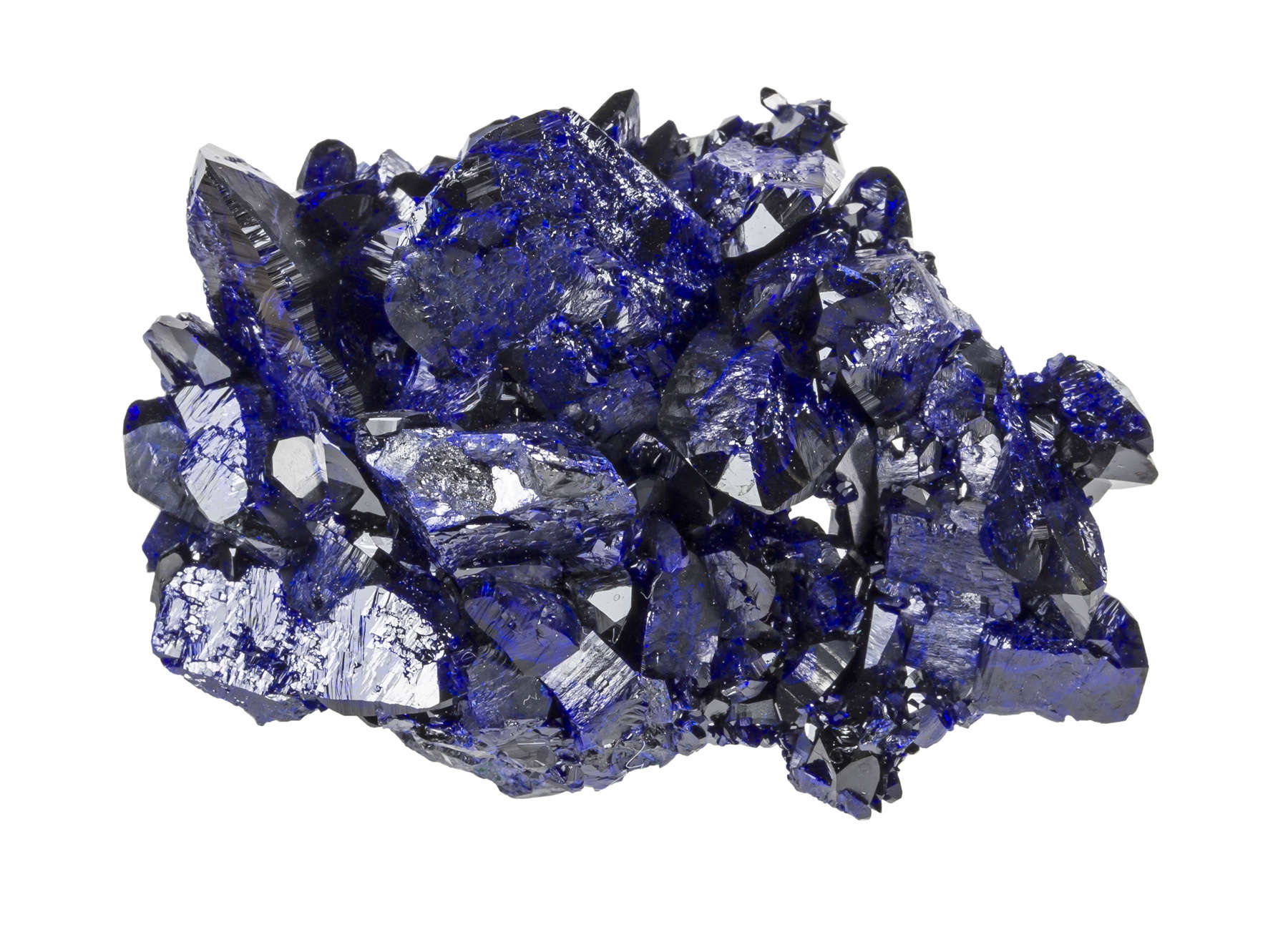 An exceptionally aesthetic azurite Milpillas The deep electric blues
