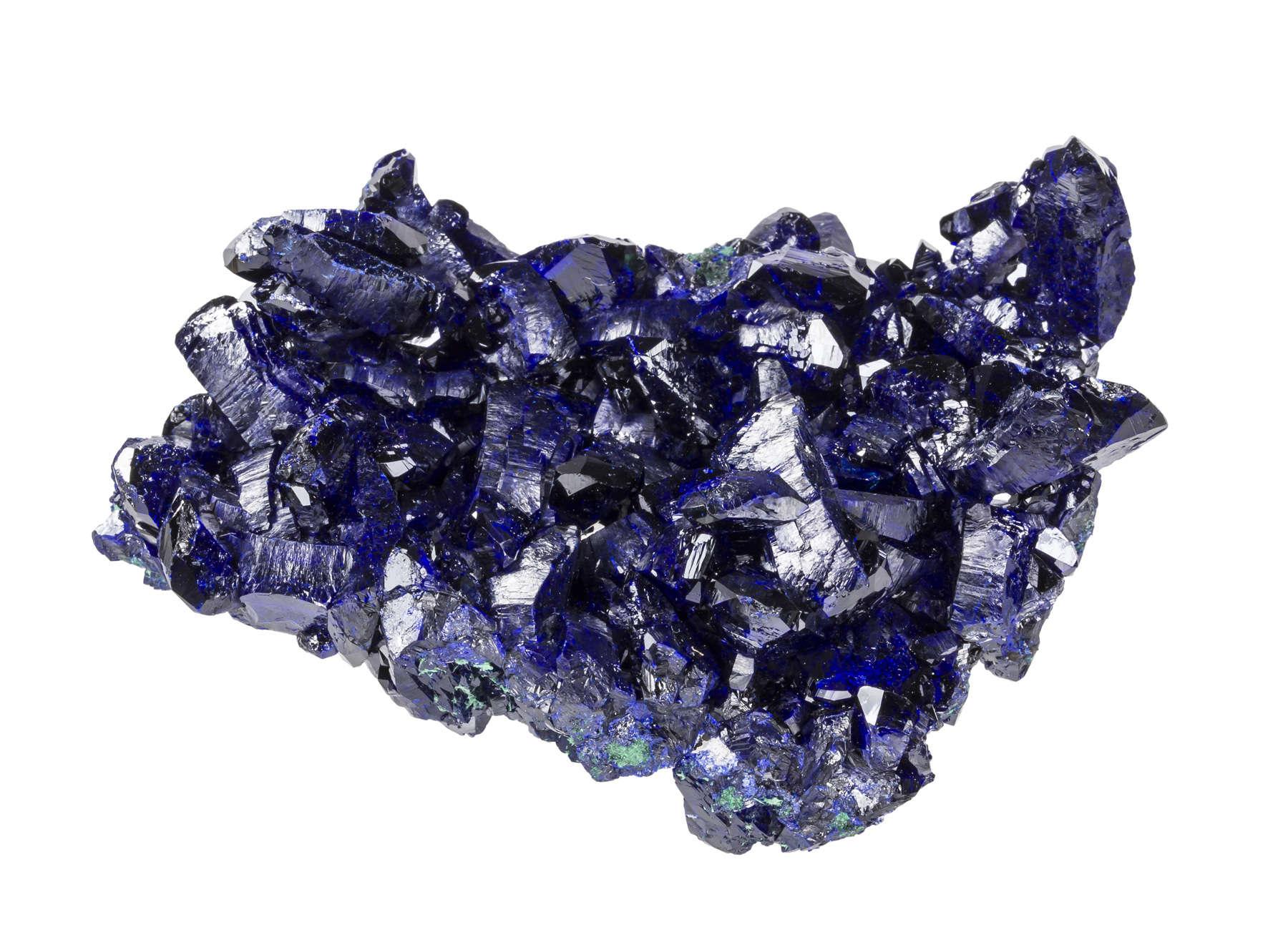 A beautiful fine specimen Milpillas deep electric blues This best
