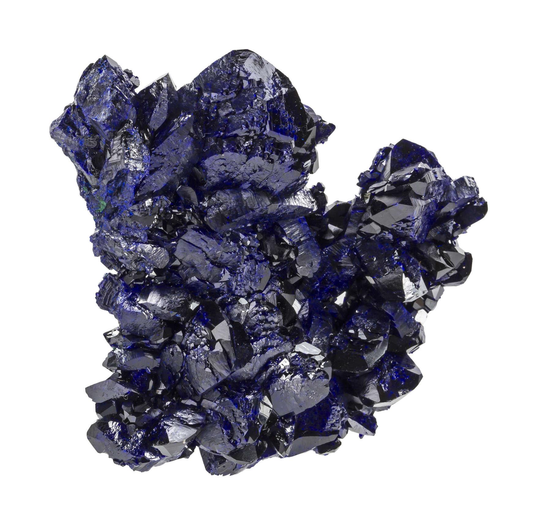 Lustrous sleek specimen great combination deep blue electric blue