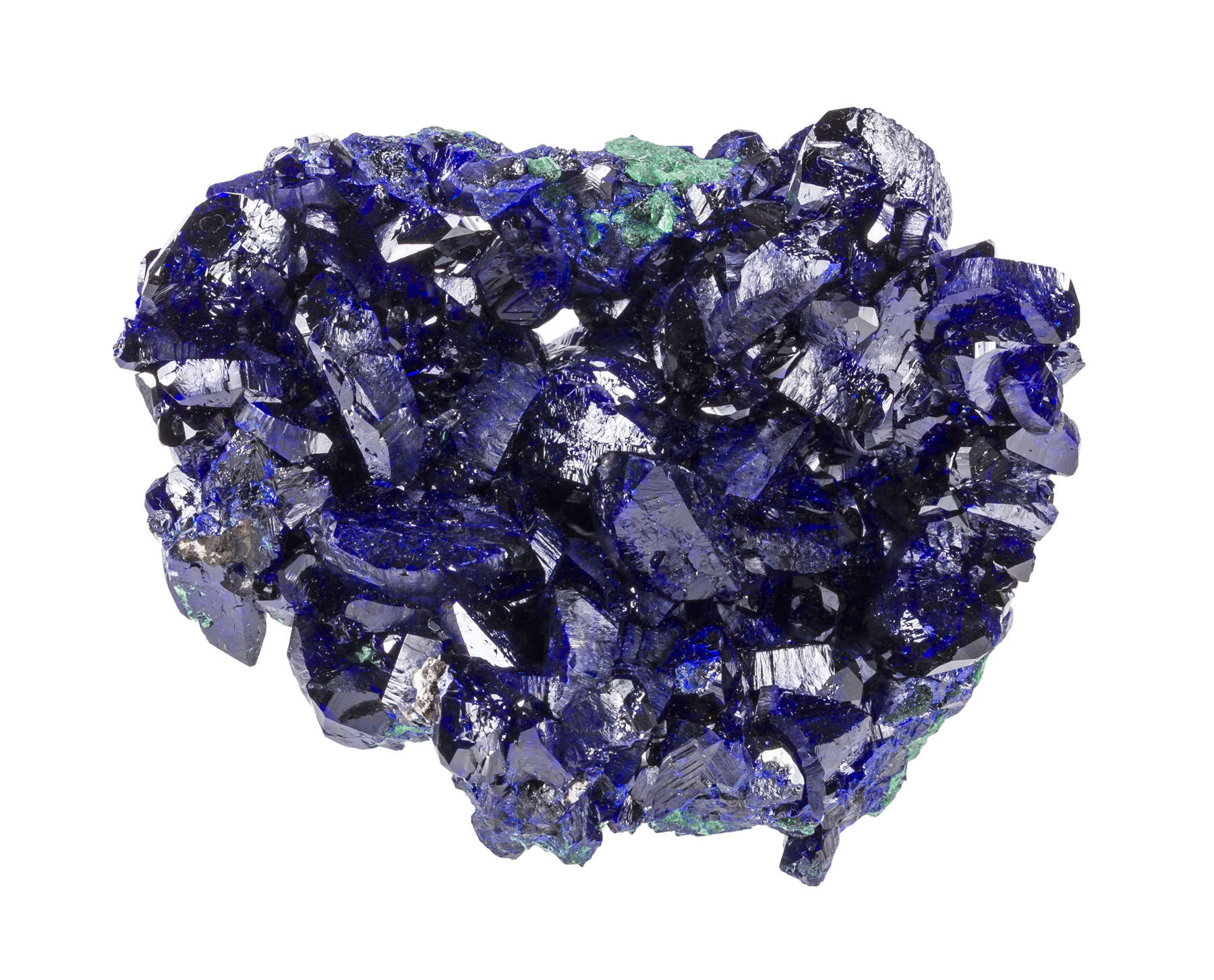 This piece bigger cleaner crystals lot exceptional deep blue color
