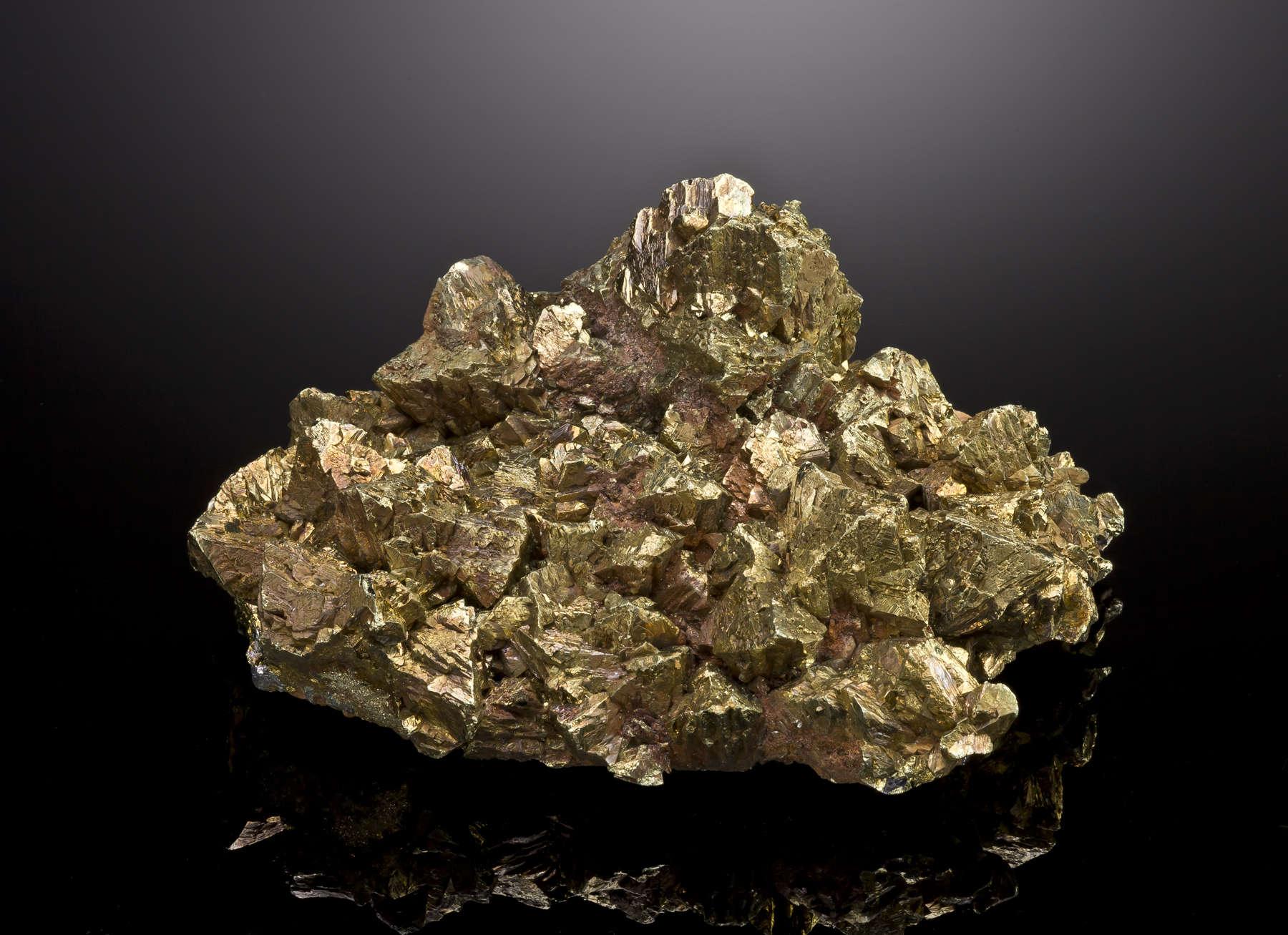 Chalcopyrite - DEN13-957 - Georg Mine - Germany Mineral ...