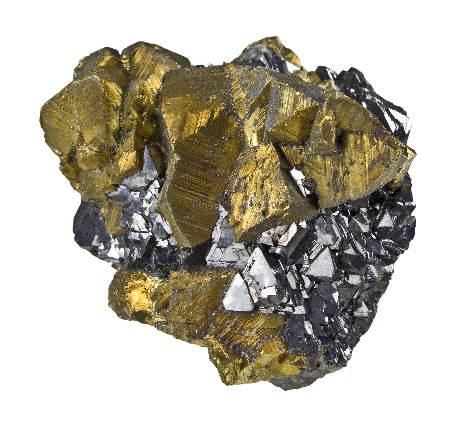 Chalcopyrite - J14-06 - Animon Mine - Peru Mineral Specimen