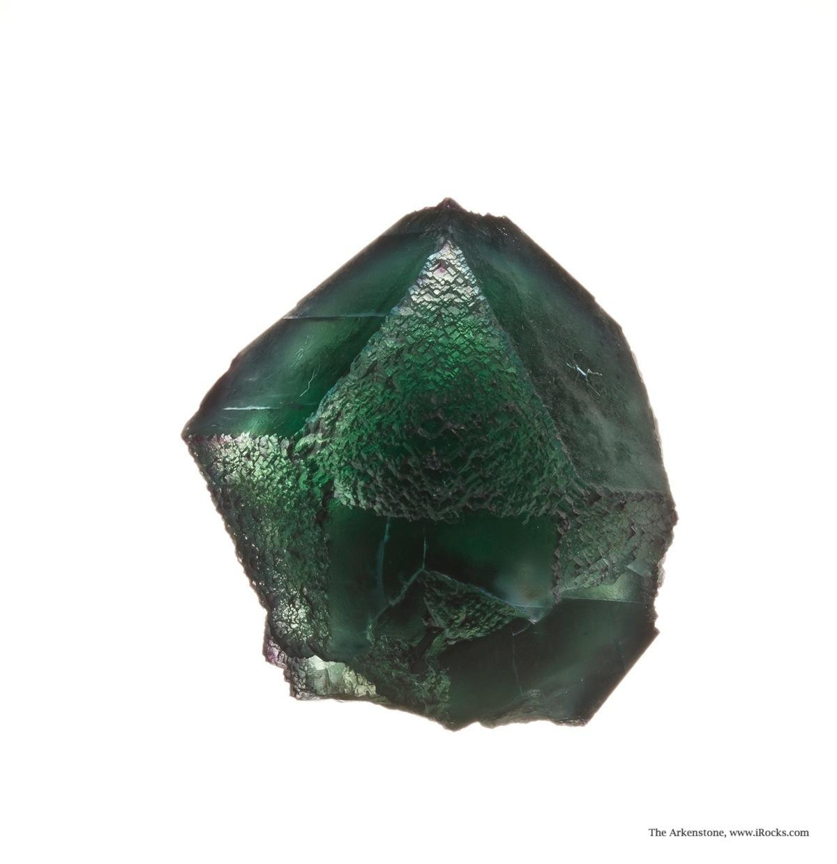 A sharp single crystal showing unusually complex crystal habit