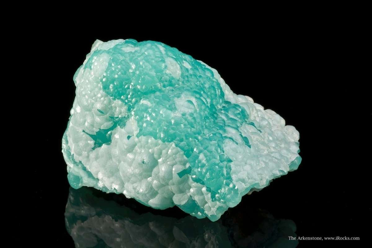 This unusual smithsonite classic Kelly Mine large rolling display face