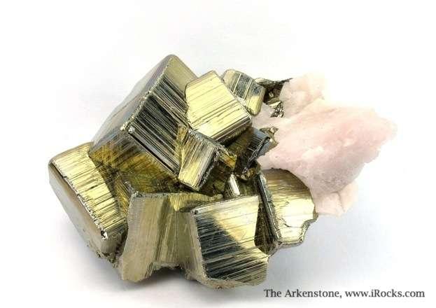 Peru renowned s superb Pyrites classic Cubic beveled striated lustrous