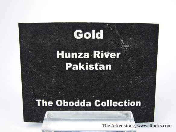 A choice 7 7 gram nugget obtained panning sand gravels Hunza River