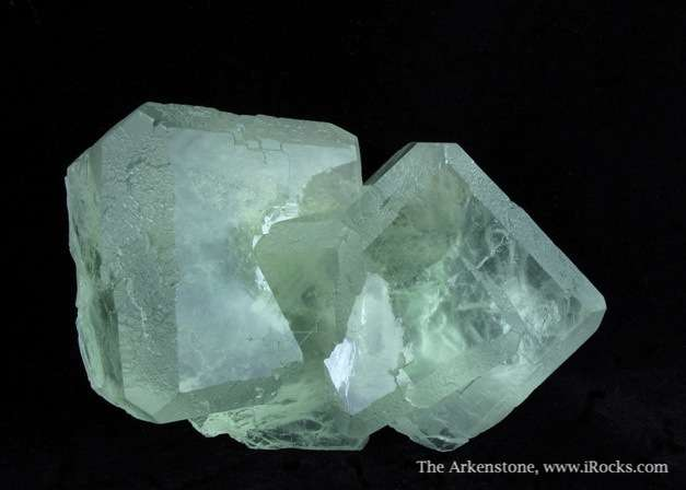 A classic example gemmy water clear Green fluorites came Xianghuapu