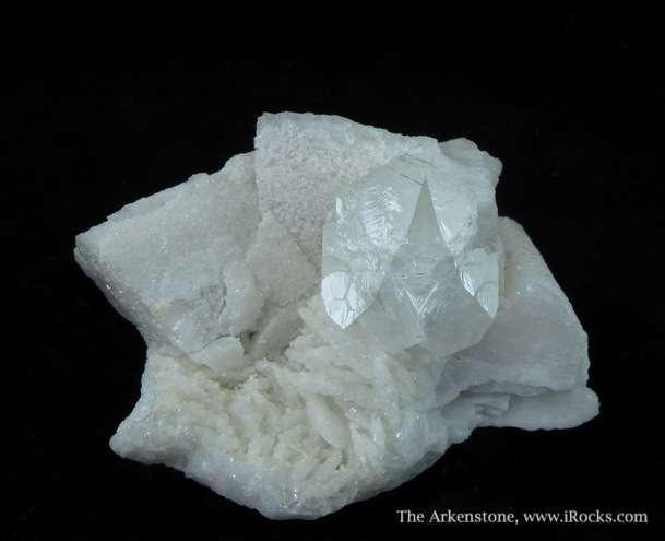Hambergite rare accessory mineral gem pegmatites Seldom crystals