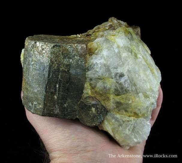 Exceedingly rare mineral species normally occurs microcrystals gray