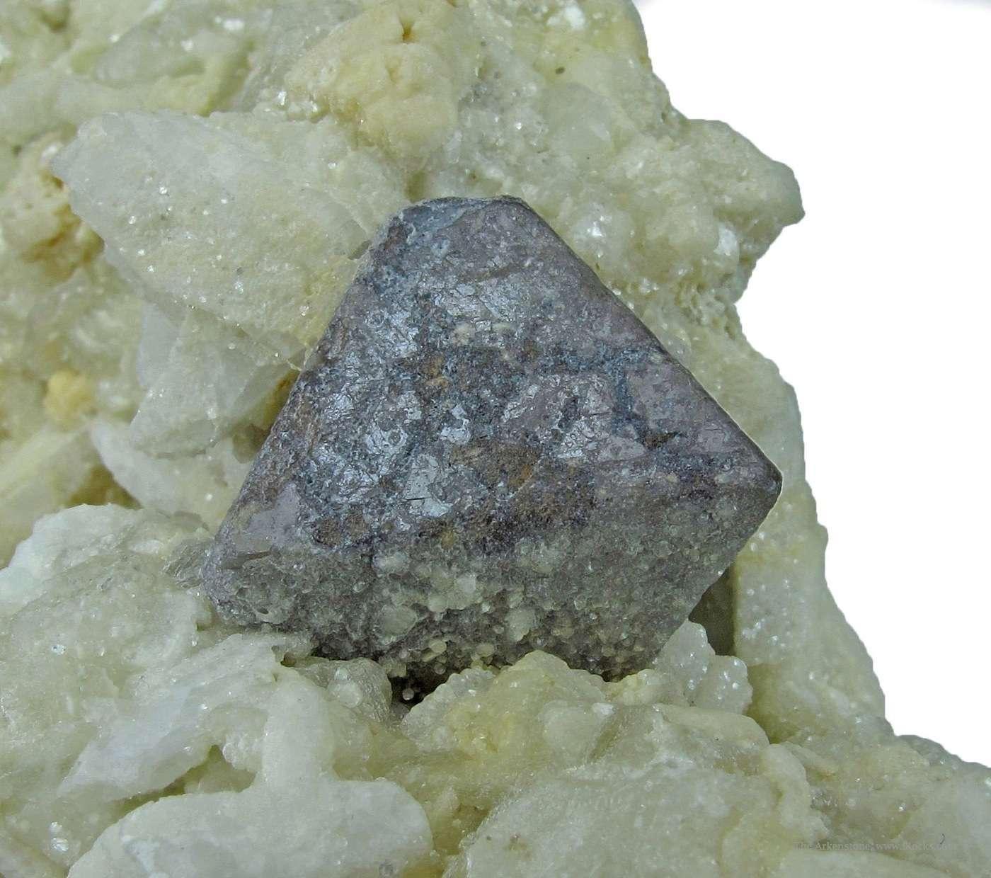 This rare unusual specimen sharp octahedral Tantalite Microlite Herb