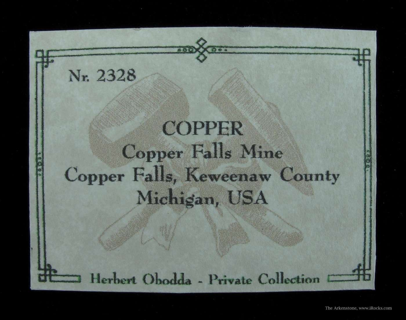 A wildly crystallized anthropomorphic Copper specimen Copper Falls