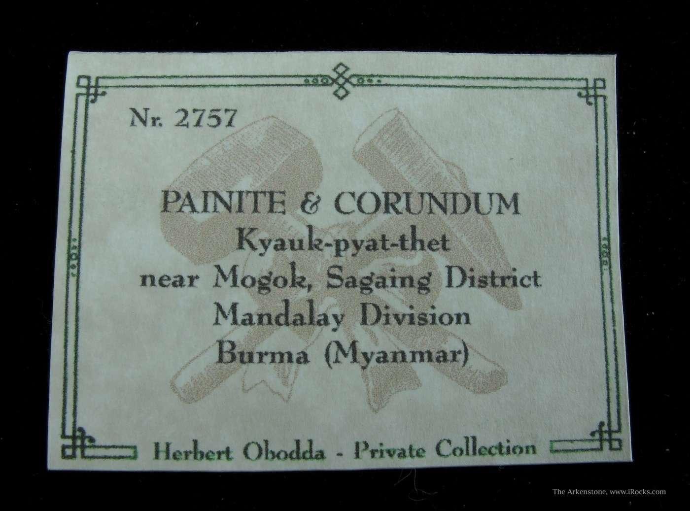 The Guinness Book World Records described Painite THE rarest gem