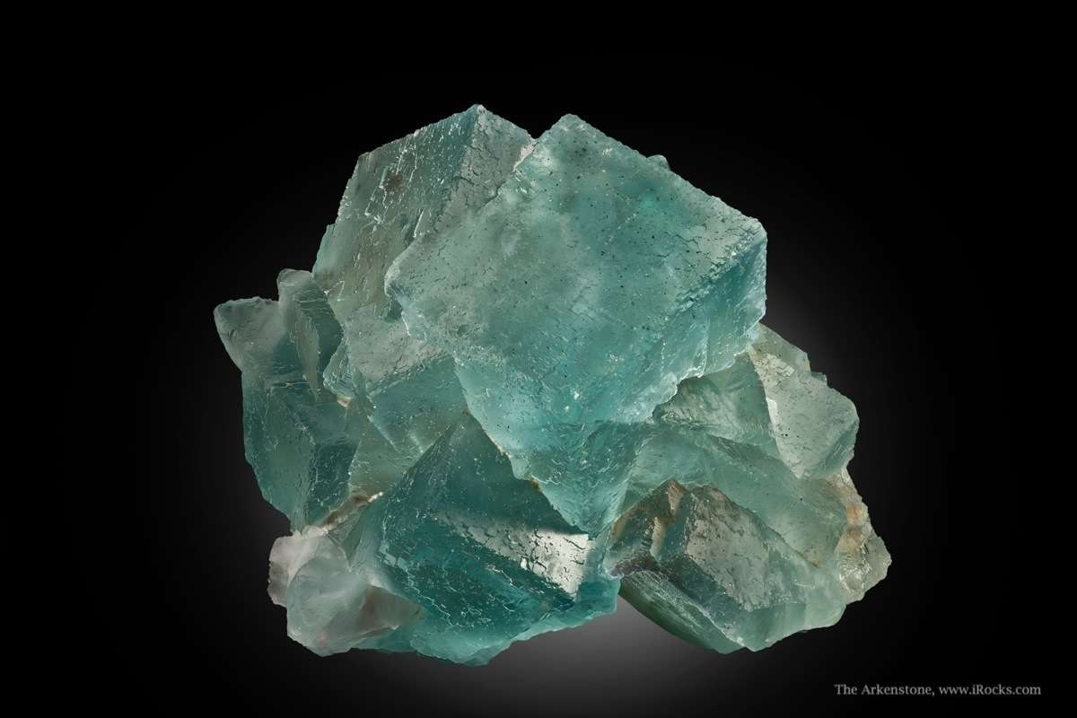The photos tell tale HUGE specimen blue fluorite classic Spanish