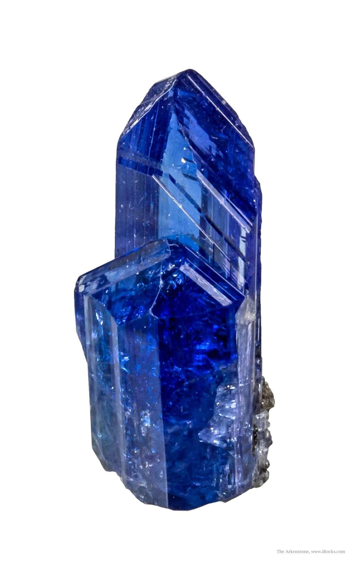 This glassy gemmy tanzanite crystal featuring crystals 3 1 cm length