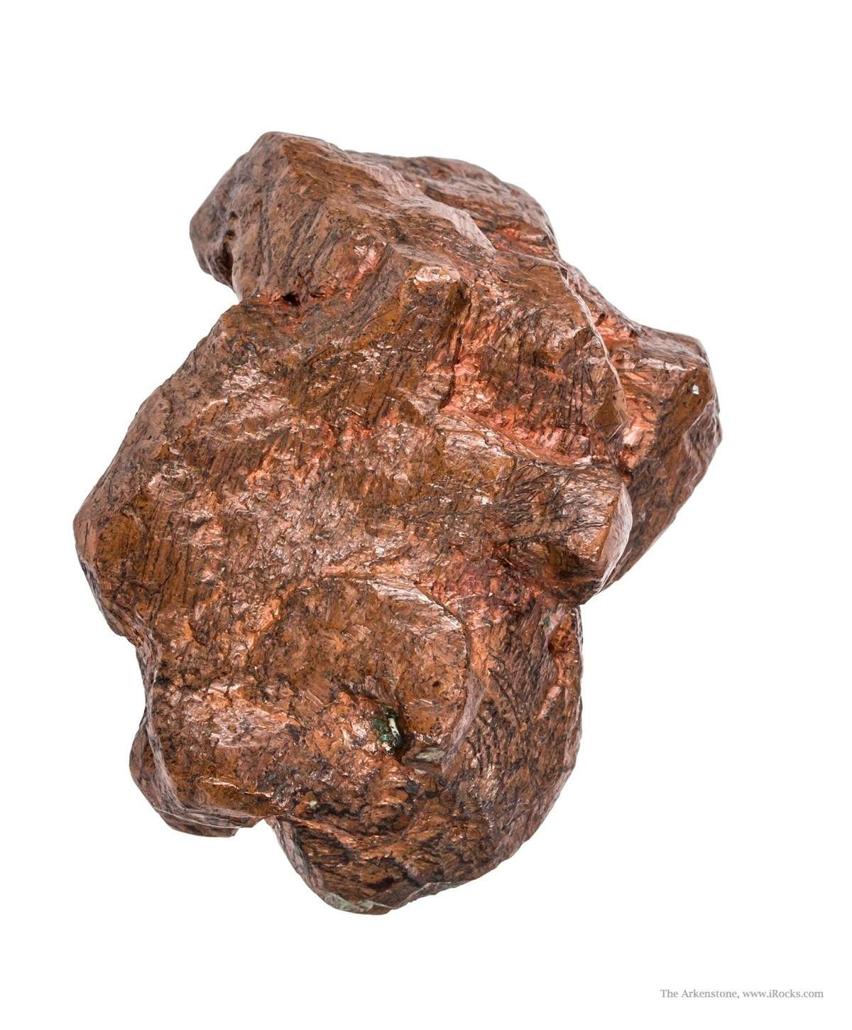 This specimen gives new meaning term robust terms copper crystal size
