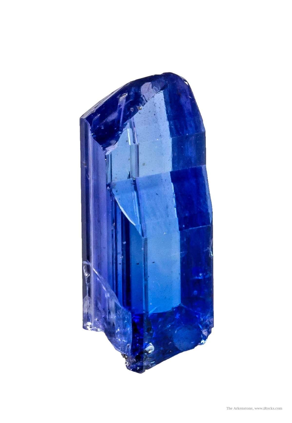 This truly world class thumbnail specimen zoisite var tanzanite The