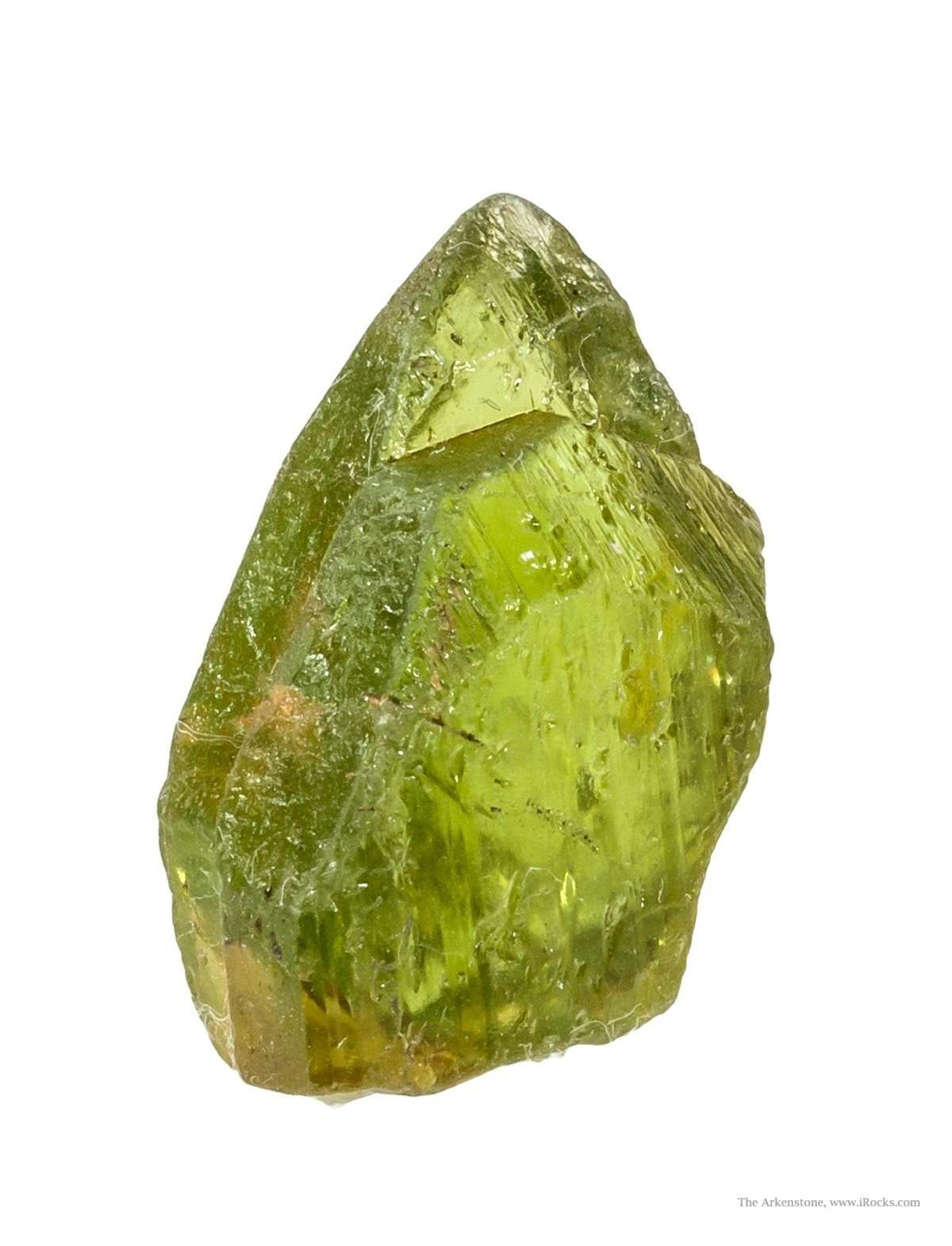 A Rough Guide To Types Of Scientific Evidence: Rough And Cut Lost Peridot