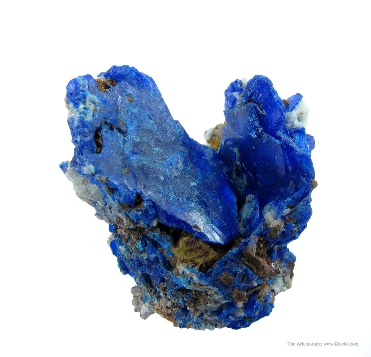 A rare lead copper chloride vivid blue Diaboleite Collins vein