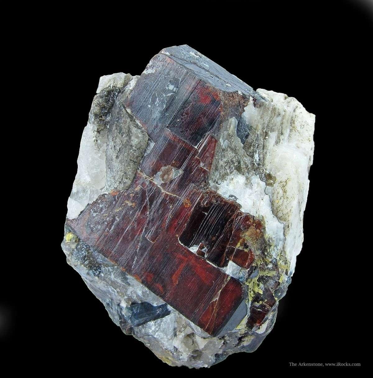 Tantalite Mn specimens known pegmatite locality rare seldom available