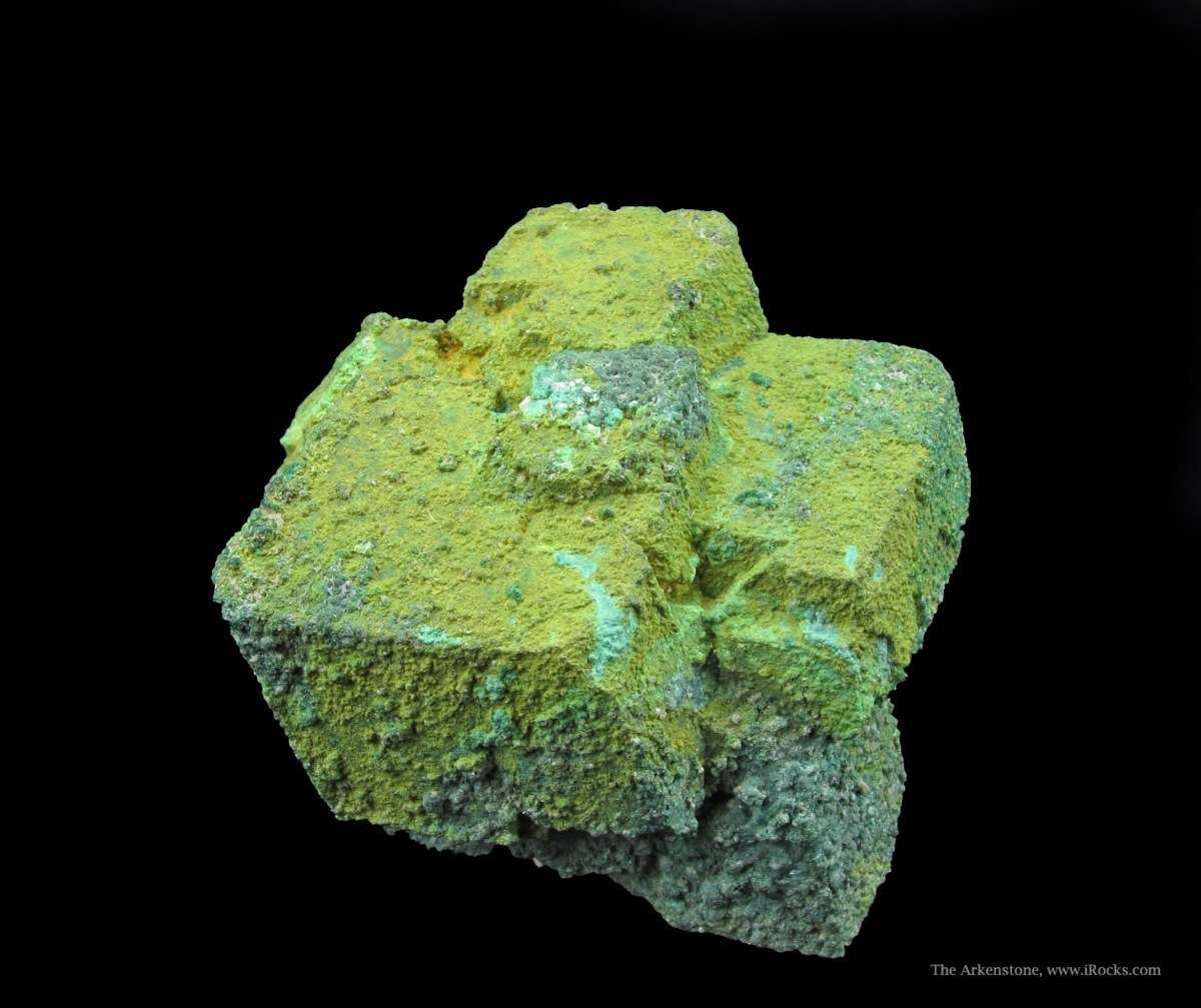 Classic intriguing cluster Cuprites partially coated replaced